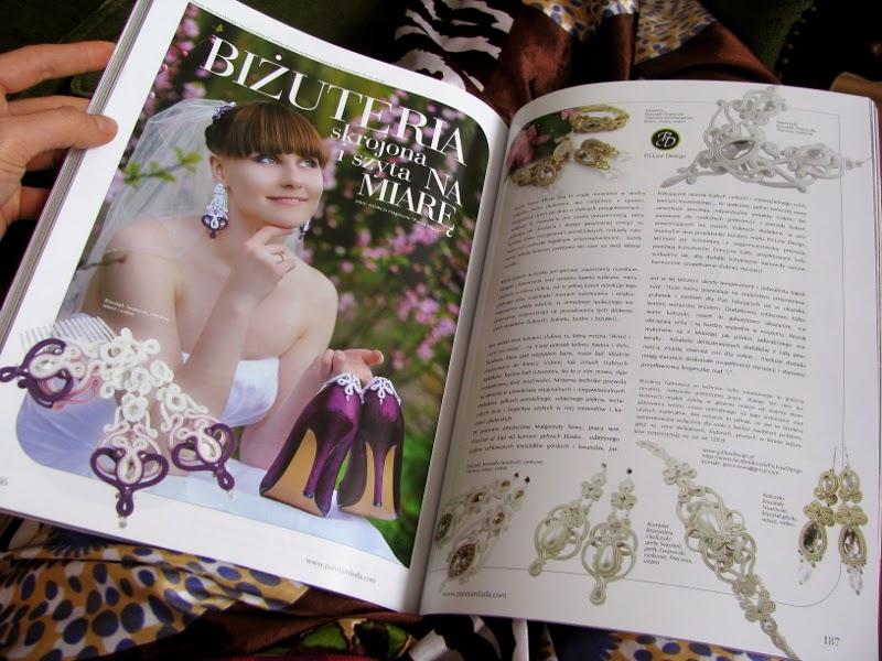 Biżuteria ślubna sutasz PiLLow Design
