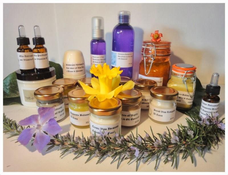 cosmesi naturale profumo di iris maghella di casa