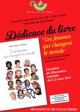 Séance dédicace de Marie-Ange Le Rochais pour Ces femmes qui changent le monde - Le journal de François, infos de proximité de la Vallée de Montmorency : lire l'article