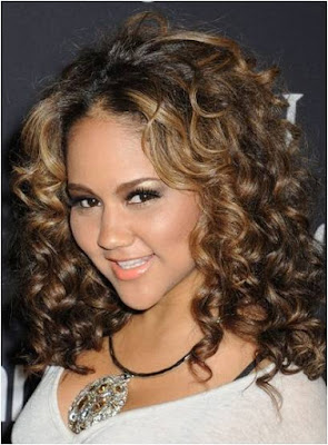 Medium Curly Hairstyles 2012 - Curly Hair Tips