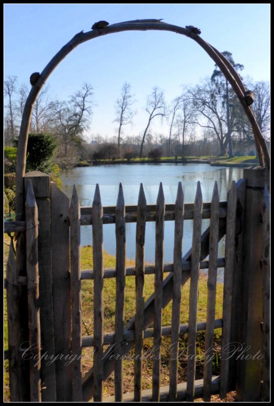 Queen's hamlet lake Versailles