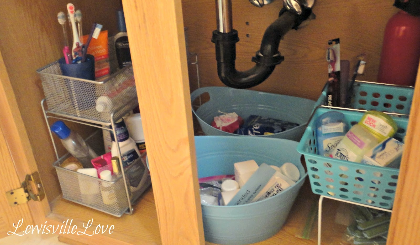 Lewisville Love Organizing The Messy Vanity