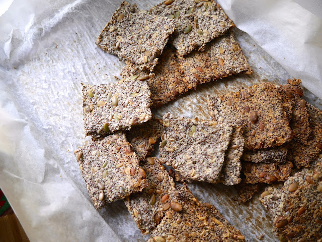 chia seed cracker recipe
