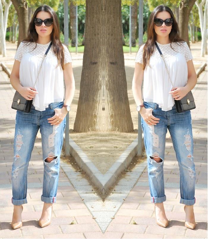 Boyfriend Jeans+ Stilettos