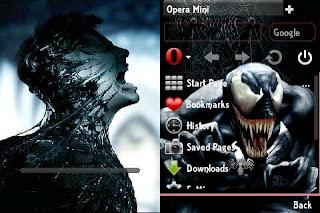 Descargar Opera Mini 6.1 Handler Splash Venom (Java)