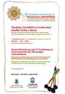 5ª Conferencia Internacional de Psicología Comunitaria