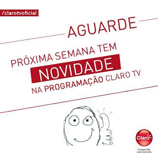 Rede TV na Claro TV semana que vem - leia a matéria 11/04/13