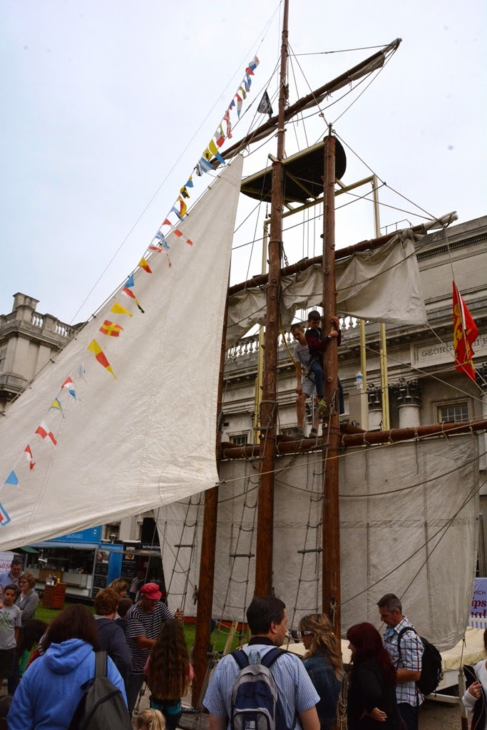 Greenwich mast climbing