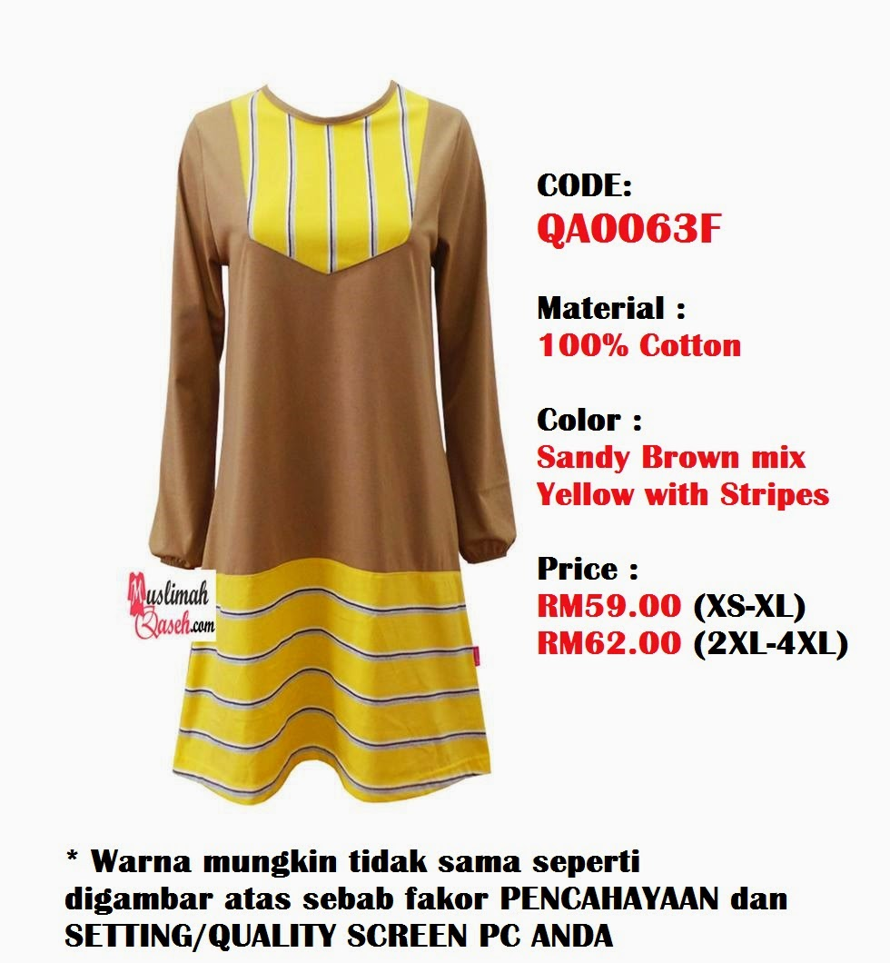 T-Shirt-Muslimah-Qaseh-QA0063F