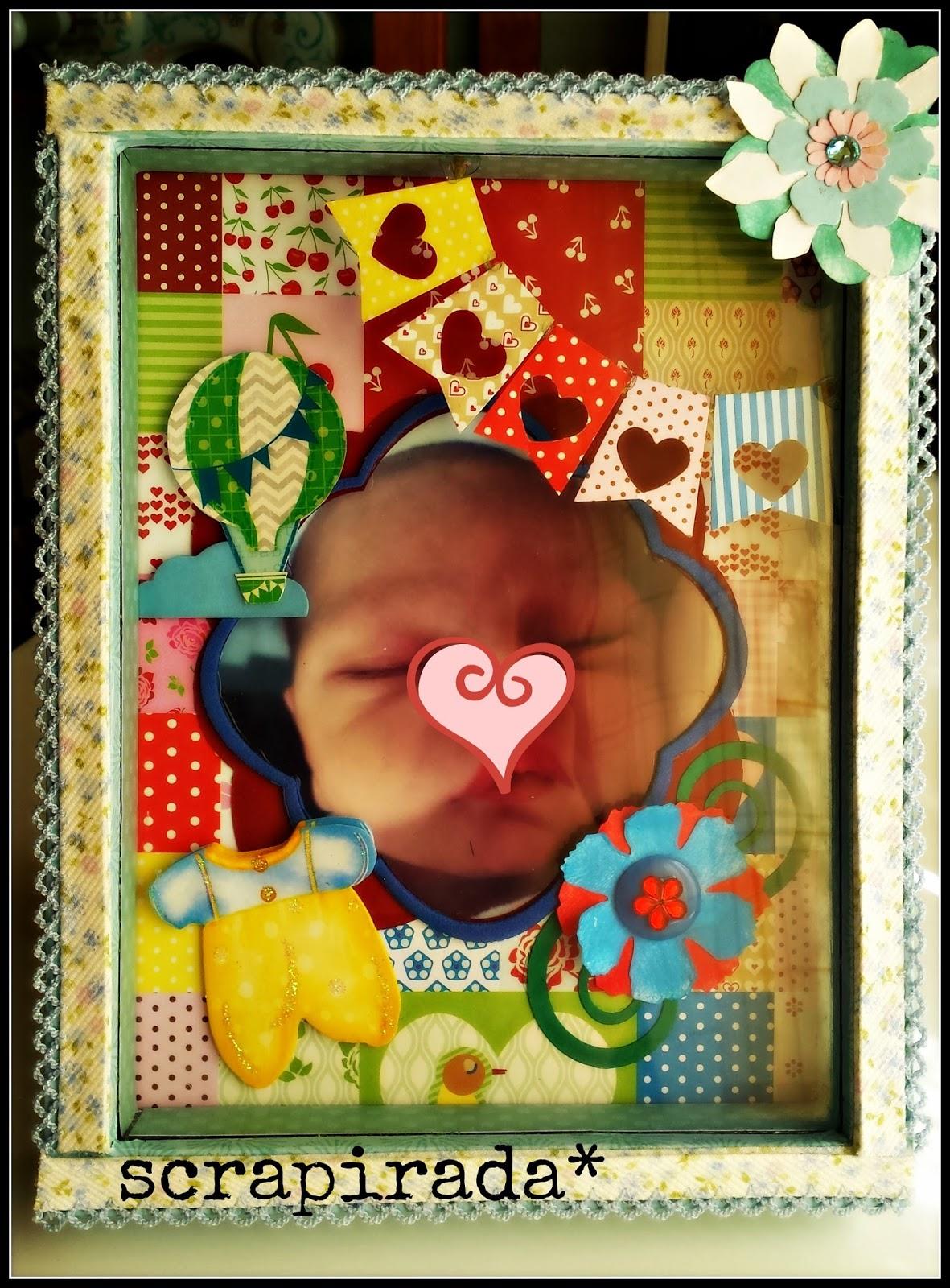 Scrapirada marco de fotos con profundidad - Marcos con profundidad ...