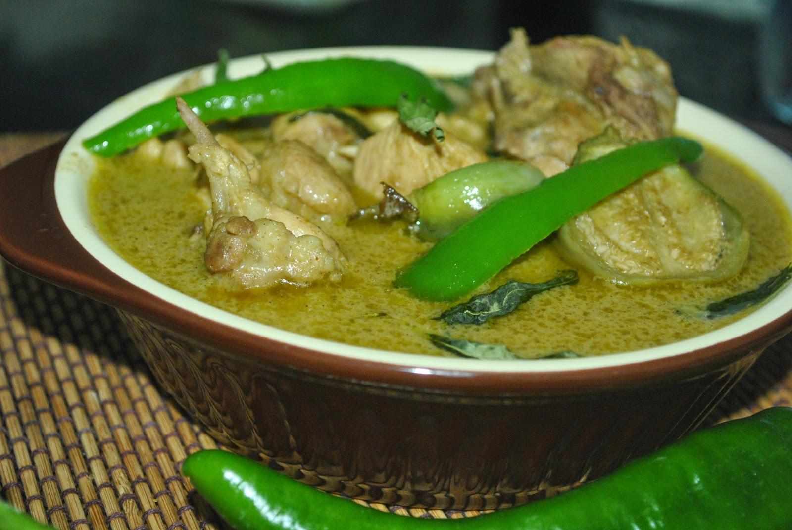 Resepi Green Curry Chicken Thai Green Curry Chicken