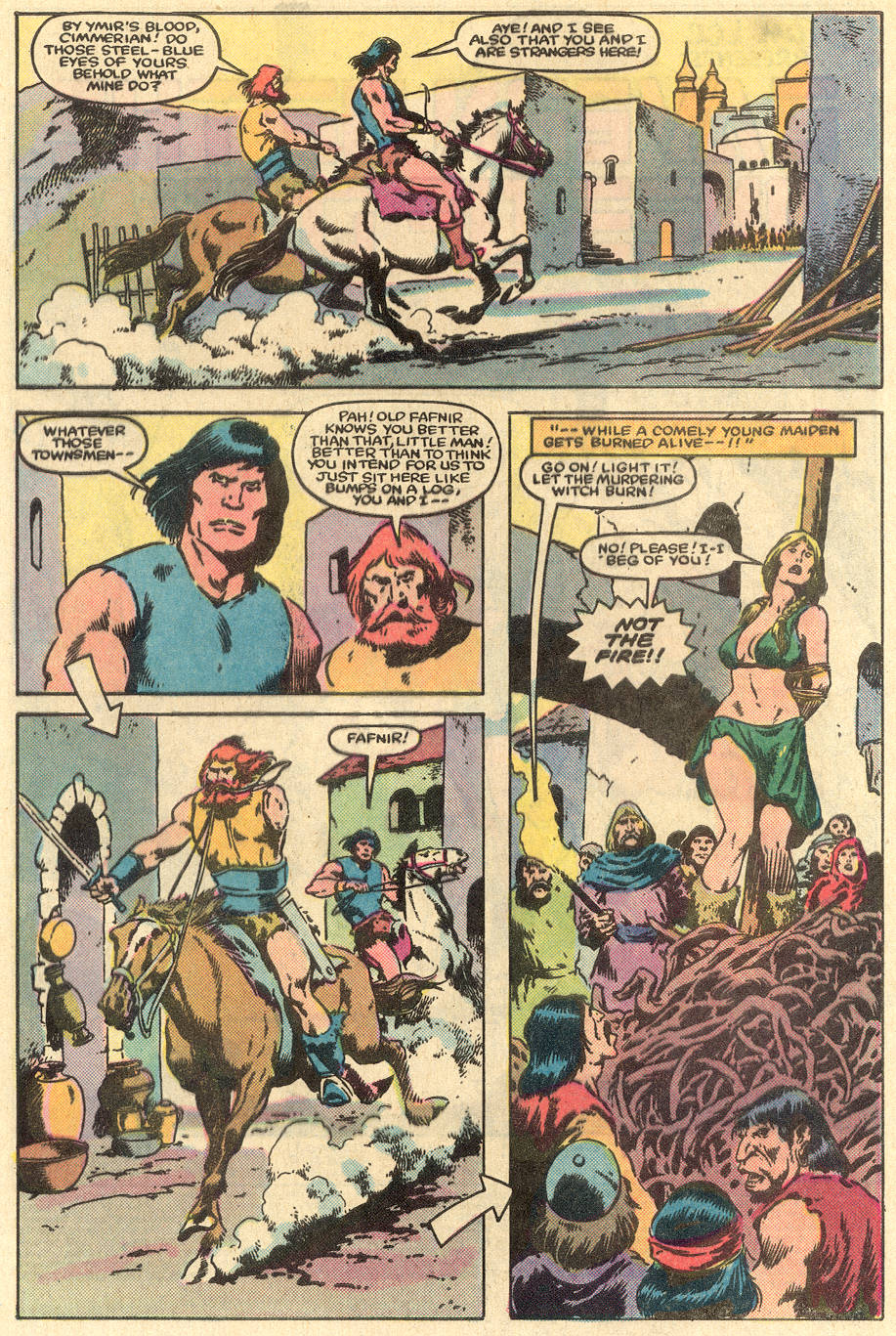 Conan the Barbarian (1970) Issue #163 #175 - English 3
