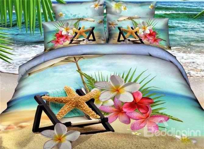 http://www.beddinginn.com/product/Beautiful-Starfish-And-Flower-On-The-Beach-Print-Duvet-Cover-Sets-10909477.html