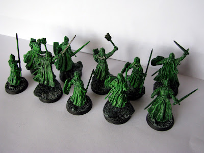 army of the dead dunharrow lord of the rings