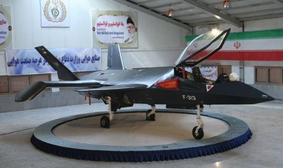 Pesawat tempur siluman Qaher F-313