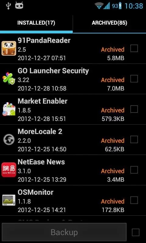Super Backup Pro: SMS&Contacts v1.7.16