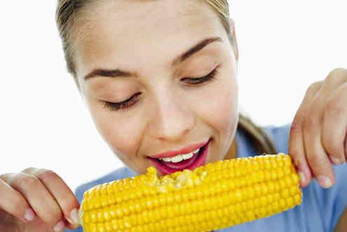 comer milho