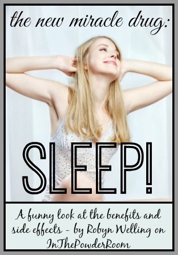 The new miracle drug - SLEEP! By Robyn Welling @RobynHTV