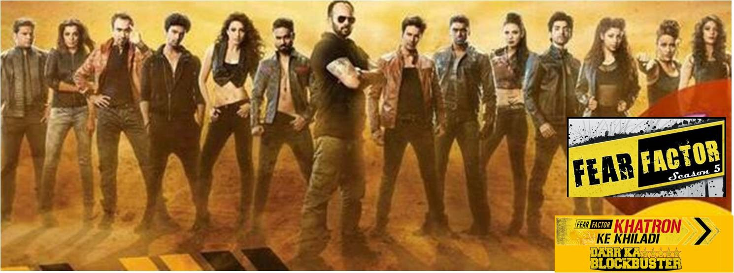 Fear Factor Khatron Ke Khiladi Season 5 contestants with Rohit Shetty