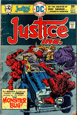 Justice Inc #3, The Avenger