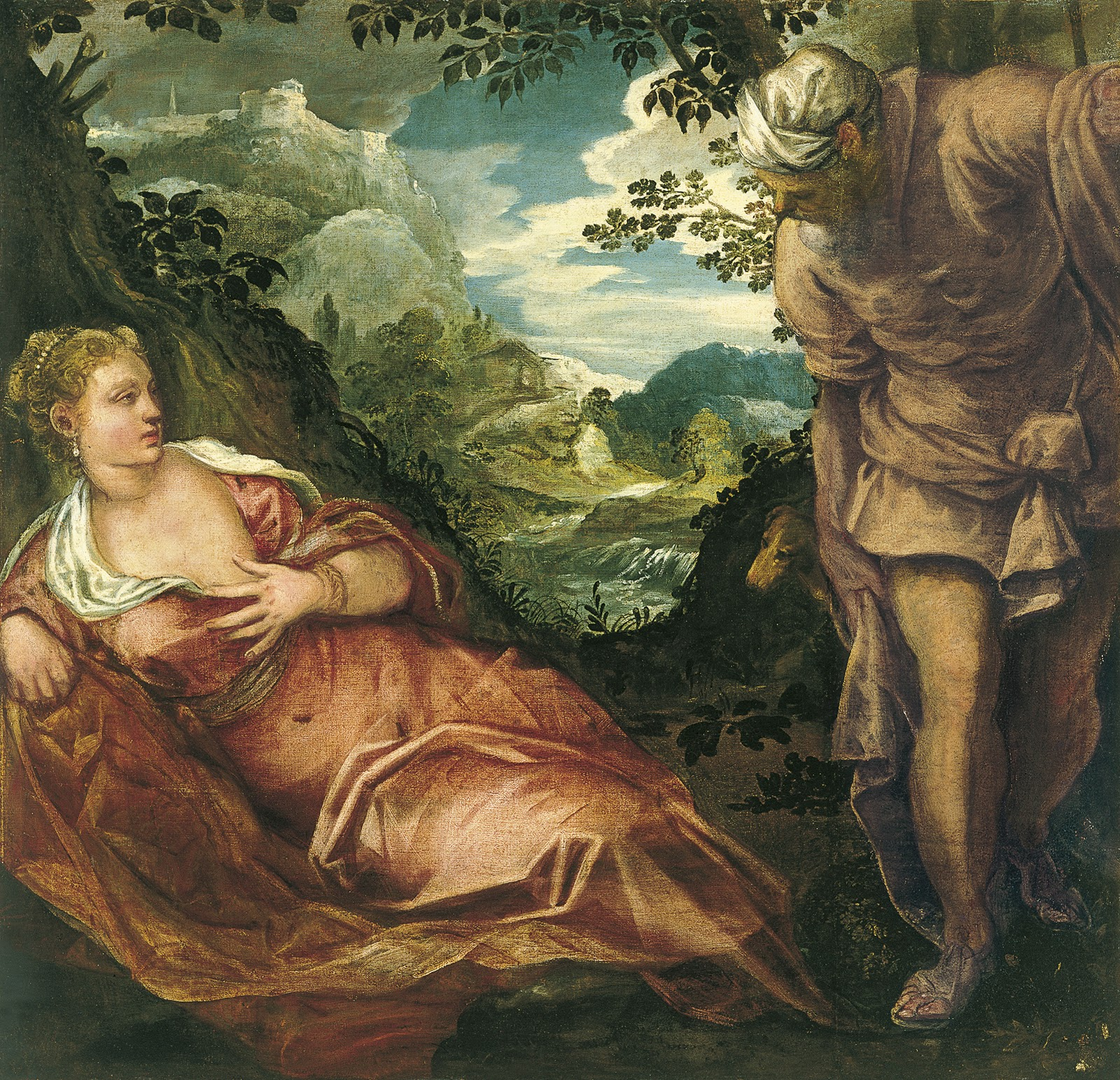 The pines of rome: tintoretto arrives in rome