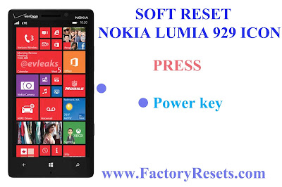 Soft Reset Nokia Lumia 929 Icon