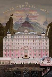 Poster original de El gran hotel Budapest