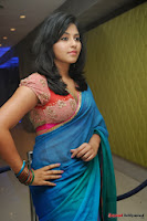 actress anjali hot saree photos at masala telugu movie audio launch+(8) Anjali Saree Photos at Masala Audio Launch
