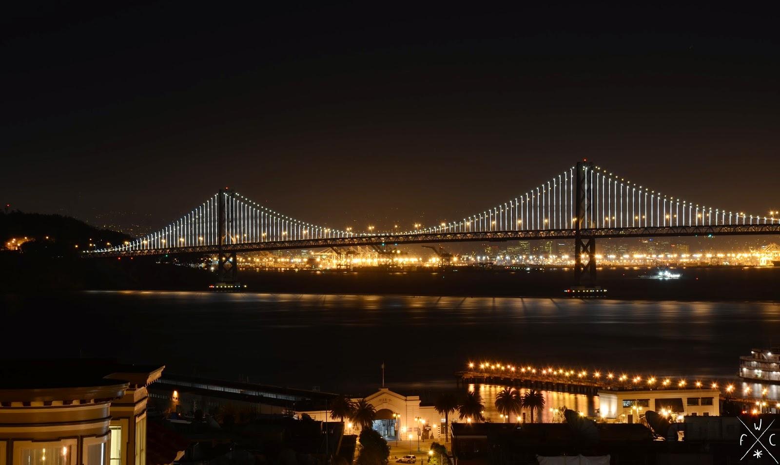 Bay Bridge, San Francisco, Californie, USA