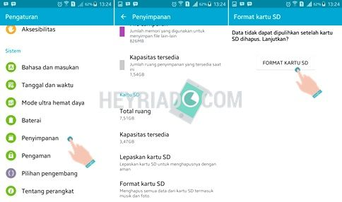 Cara Format SD Card Di Android