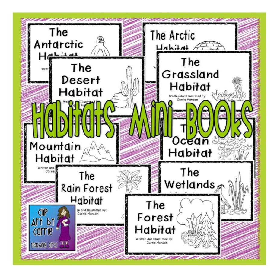 Animal Habitat Clipart - Viewing Gallery