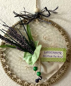 LAVENDER WALL HANGING