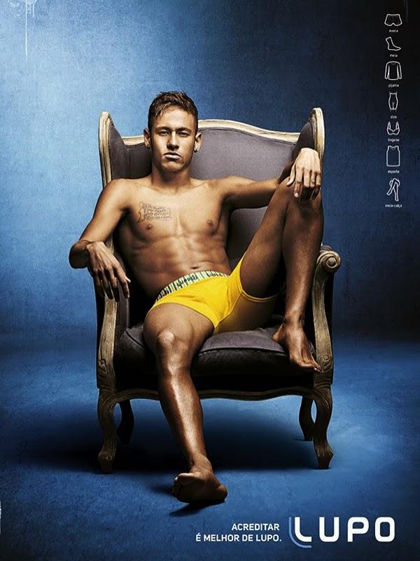 Neymar Jr. Photoshoot: Neymar Jr. Lupo Underwear Photo Shoot