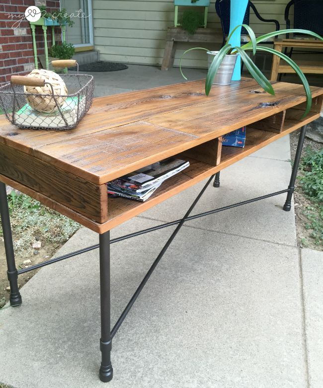 High Quality Rustic Industrial Table, MyLove2Create