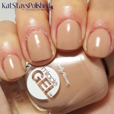 Sally Hansen Reformulated Miracle Gel - Totem-ly Yours | Kat Stays Polished