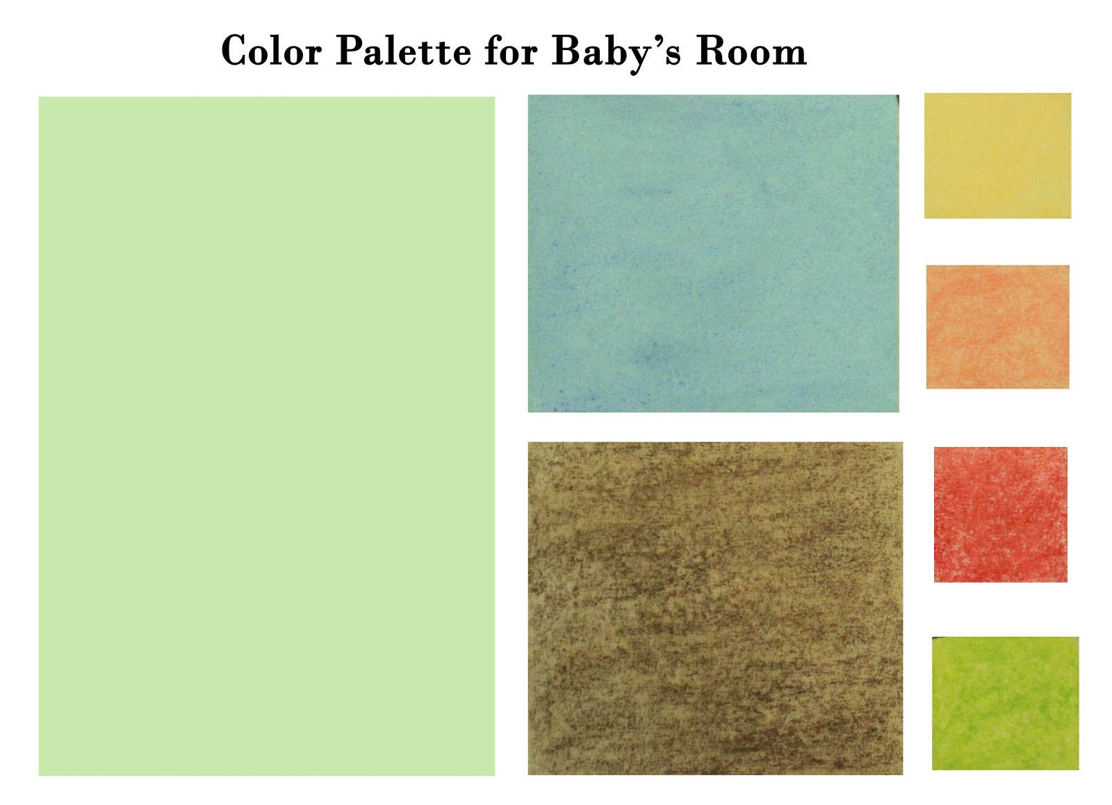This Life... ...a Prologue: Baby Room Color Palette