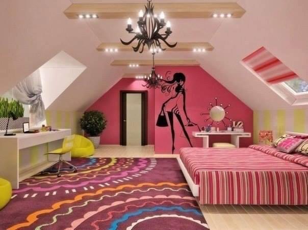 Decorar dormitorios juveniles para chicas decoraci n del for Modelos de habitaciones