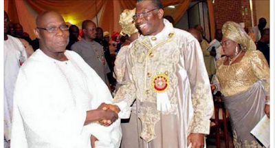 Jonathan 'ends feud' with Obasanjo