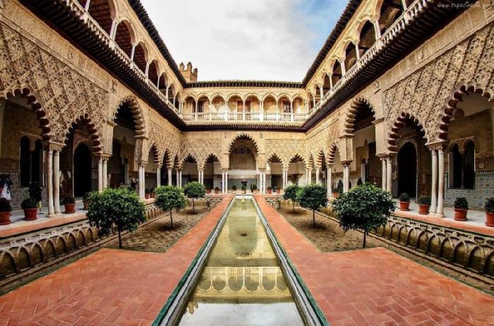 Alcázar of Seville, Spanyol