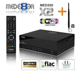 HD-Mediaplayer Mede8er MED500X2 bei iBood für 135,90 Euro (Vergleichspreis: 164 Euro)