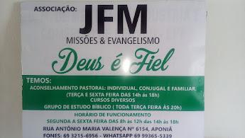 ASSOCIAÇÃO JFM- MISSÕES E EVANGELISMO