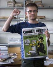"""""""Eu prefiro morrer em pé do que viver de joelhos"""" - Stephane Charbonnier (1967-2015)"""