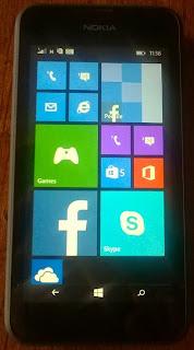 Nokia Lumia 530 Front