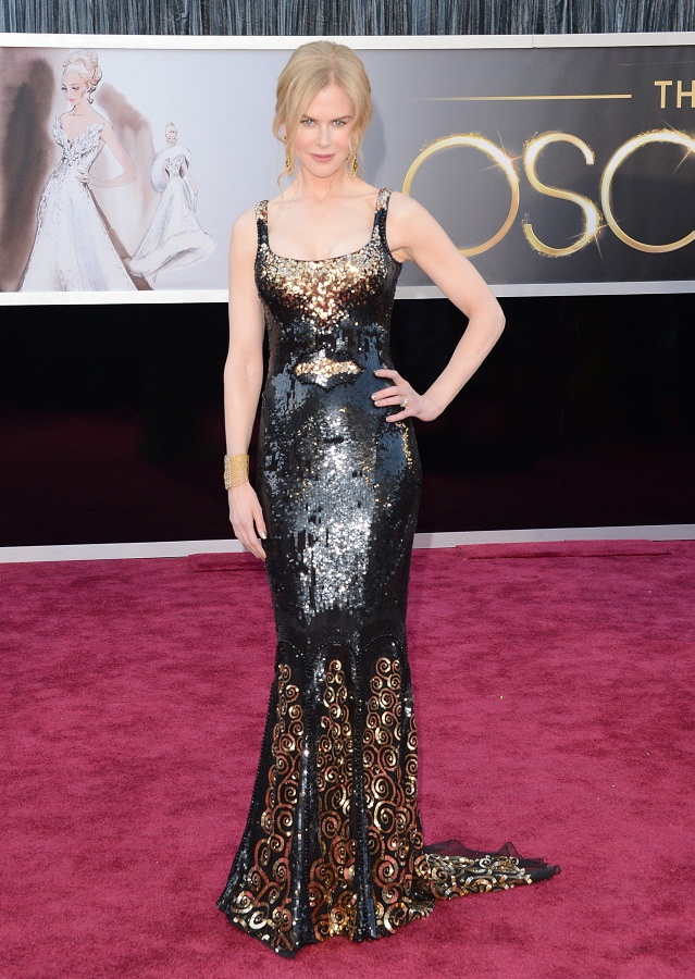 Nicole Kidman - Celebrity Fashion at the 2013 Oscars