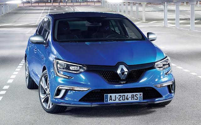 Novo Renault Megane GT 2016