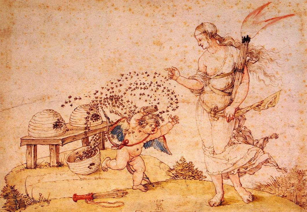 Albrecht Dürer, Cupid the Honey Thief, 1514