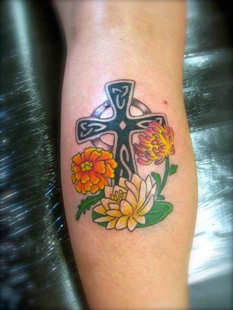 Contoh Tatto Bunga