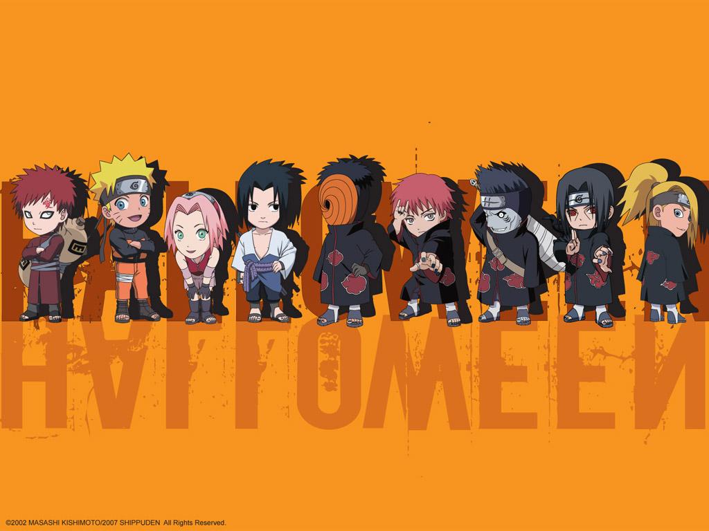 Naruto shippuden para dibujar