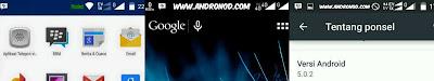 Menghilangkan notif rooted Statusbar Andromax Ec