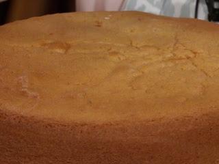 Bizcochuelo Doña Petrona para torta